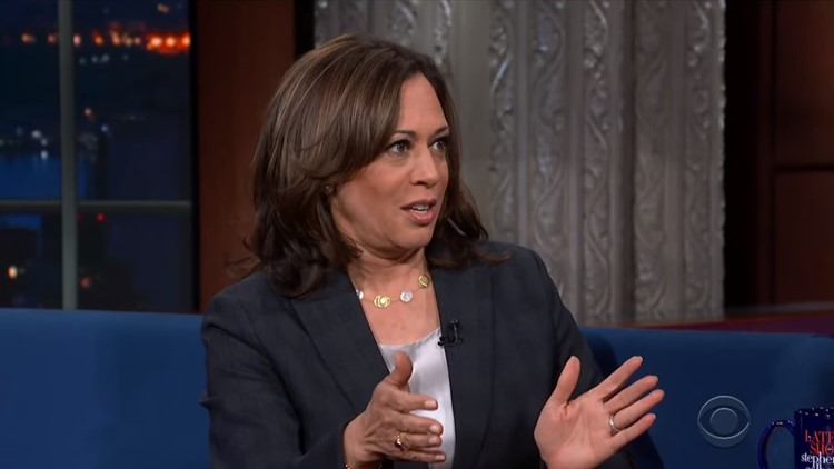 Sen. Kamala Harris Responds To Trump's Ultimatum