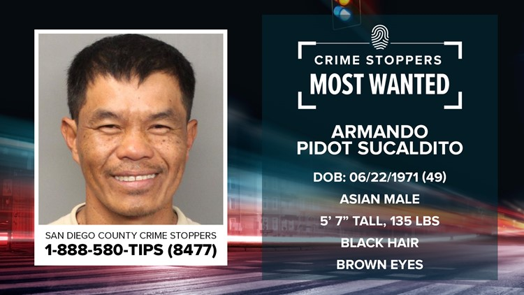 Crime Stoppers Most Wanted: Armando Pidot Sucaldito