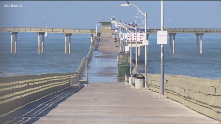 San Diego mayor announces state funding to combat homelessness, repair Ocean Beach Pier