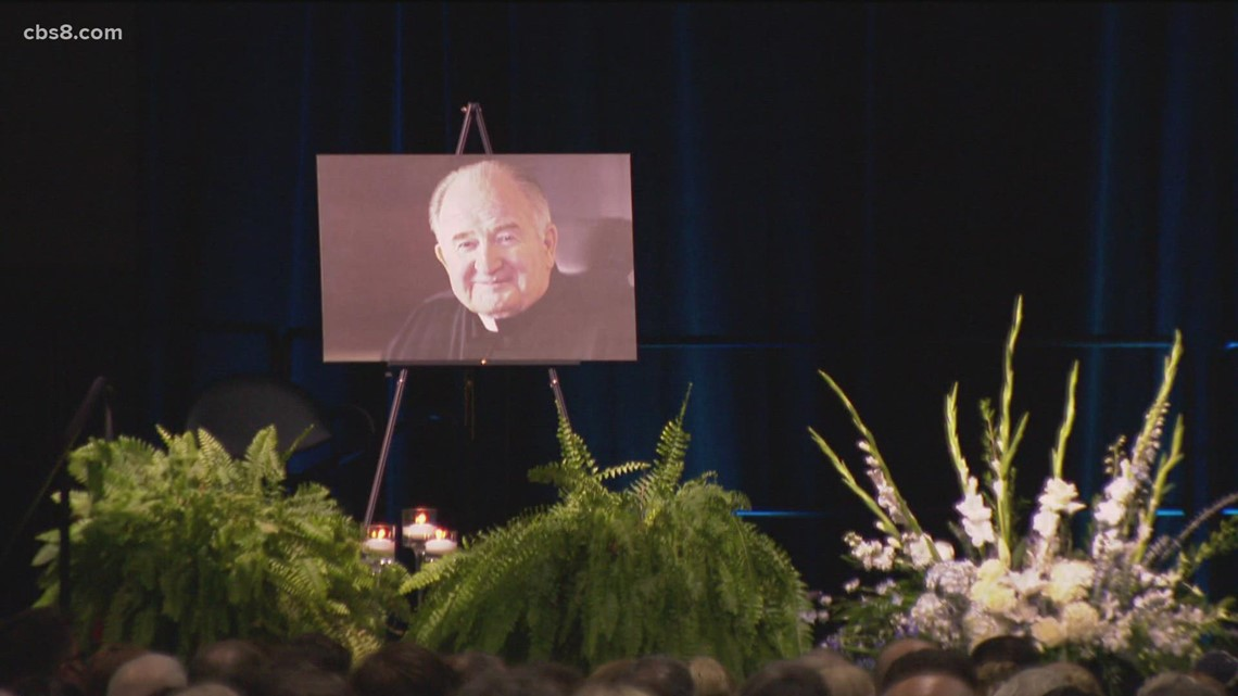 'Celebration of Life' for Father Joe Carroll at Convention Center