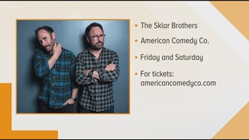 Brotherly laughs with two Sklar Brothers at the American Comedy Co.