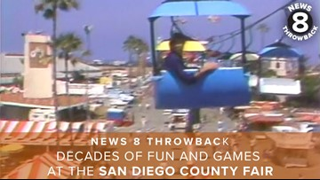 News 8 Throwback: Decades of fun and games at the San Diego County Fair