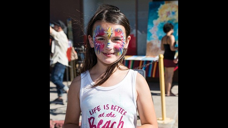North park face painting