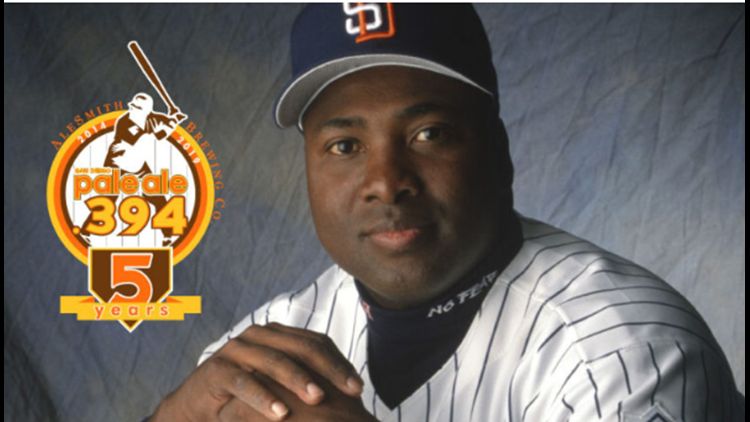 Tony Gwynn celebration