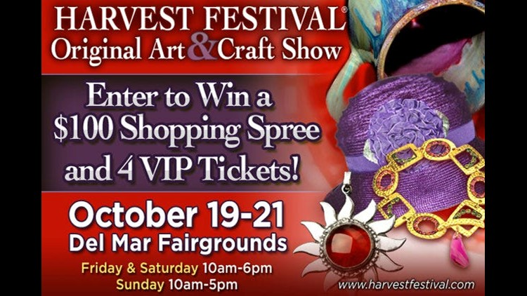 Win a $100 shopping spree to Harvest Festival! | cbs8 com