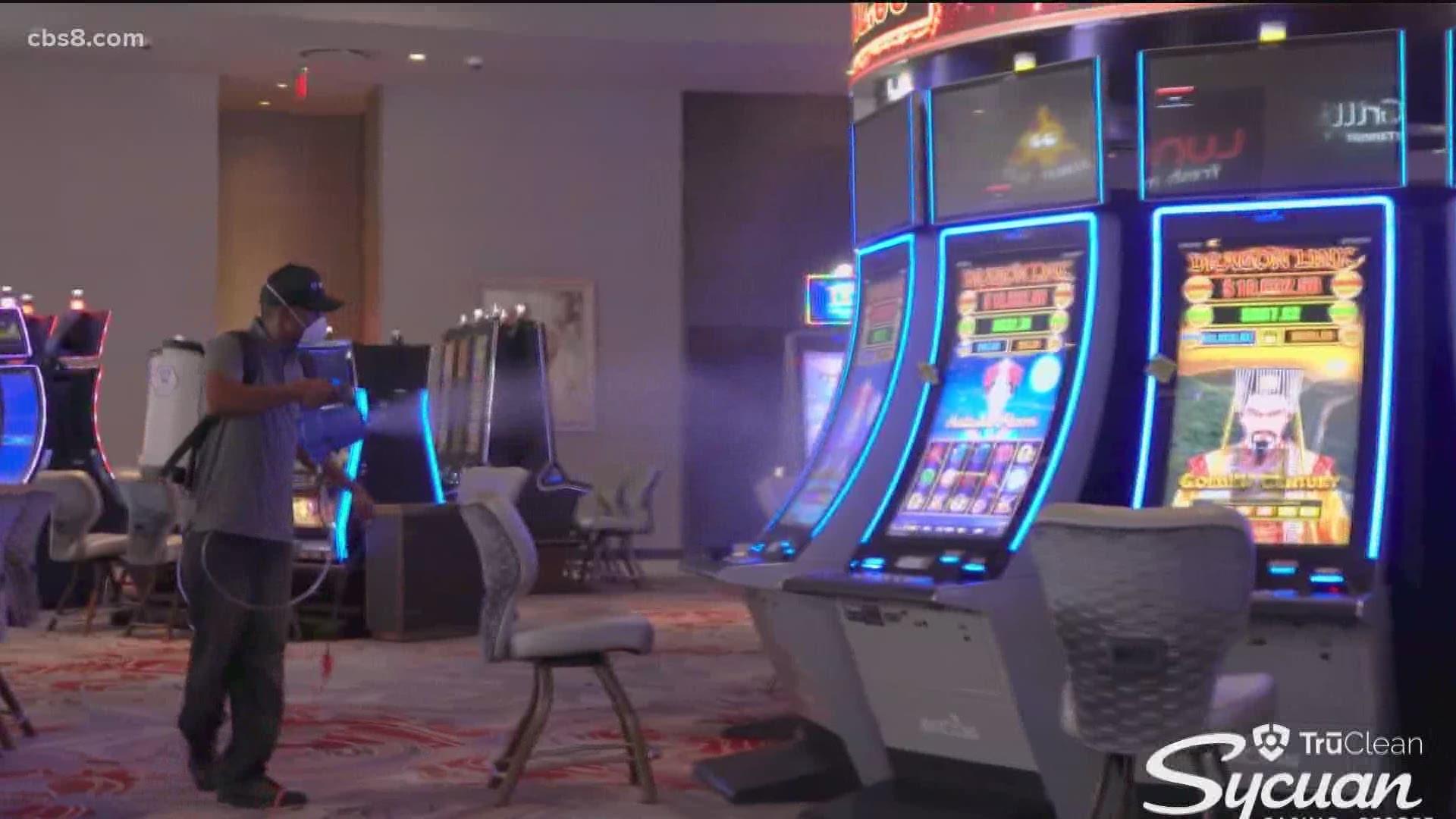 casino planning consent