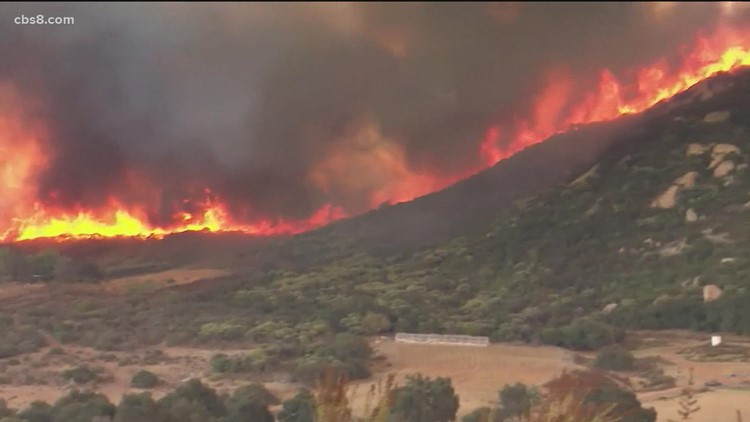 Hot and dry weather in October means potential for wildfires