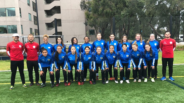 ASC San Diego launches a women's team. They join the WPSL