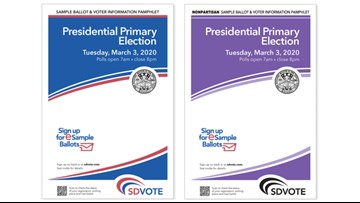 San Diego voters should receive sample ballot pamphlet for presidential primary election by Feb. 3