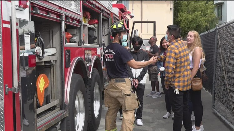 San Diegans learn safety tips for the start of Fire Prevention Week