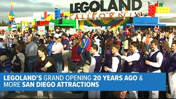News 8 Throwback: Legoland's grand opening 20 years ago & more San Diego attractions
