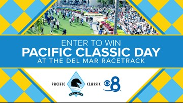 Enjoy the Pacific Classic with CBS 8 and The Del Mar Thoroughbred Club
