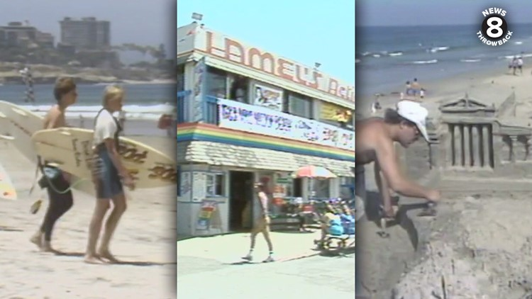 News 8 Throwback: Summertime in San Diego in the 1980s