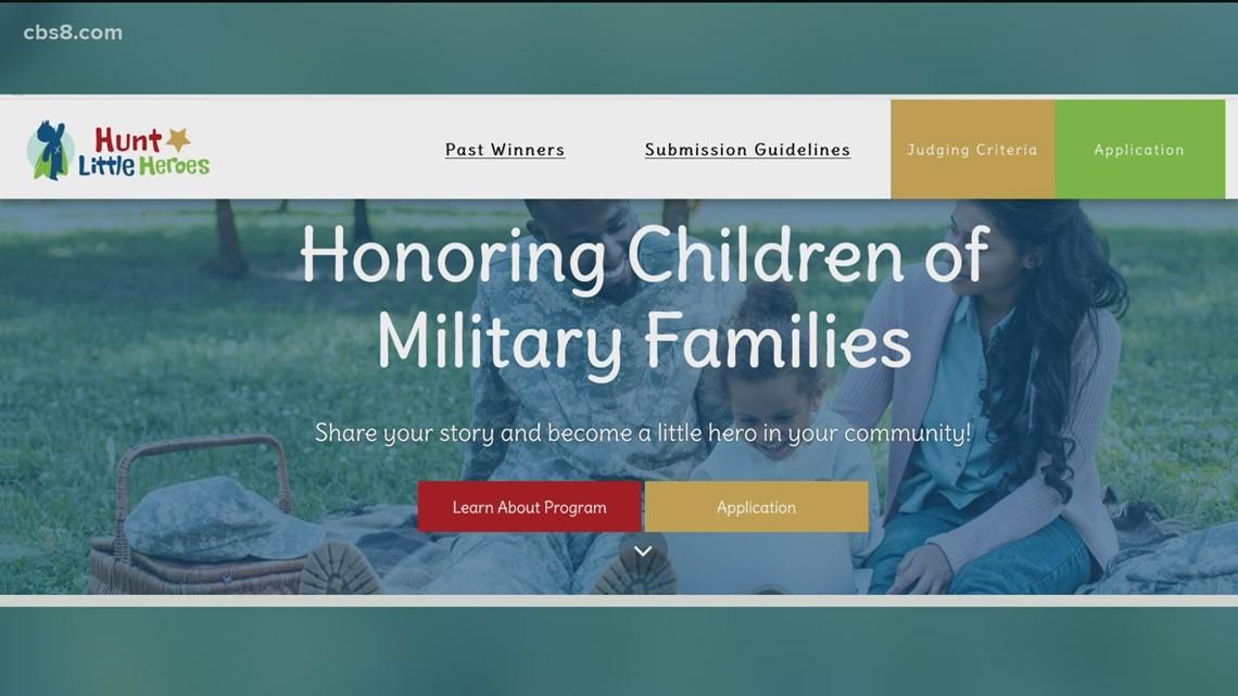 Hunt Little Heroes Program teaching kids about charity & honoring heroes