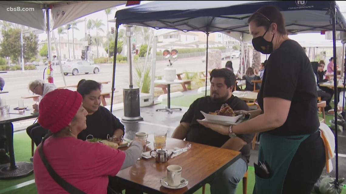 Appeals court overturns San Diego judge's ruling allowing county restaurants to reopen amid COVID-19 restrictions
