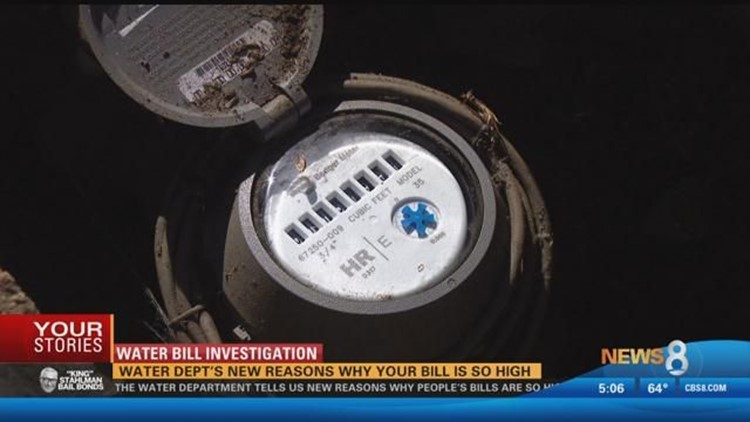 Water department's new reasons why your bill is so high