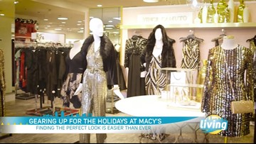Deck the Halls with these fashionable holiday looks from Macy's