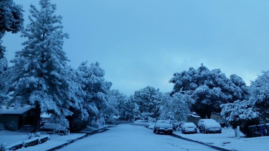 Snow across San Diego County | cbs8.com