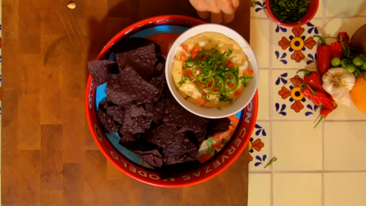 Cooking with Styles: Queso dip
