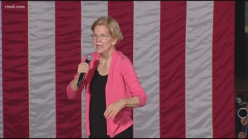 Thousands attend Elizabeth Warren's town hall in San Diego
