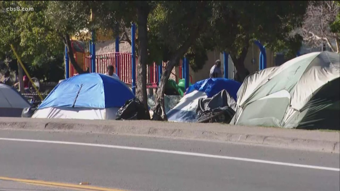 Mayor Gloria announces policy changes to homeless encampment cleanups