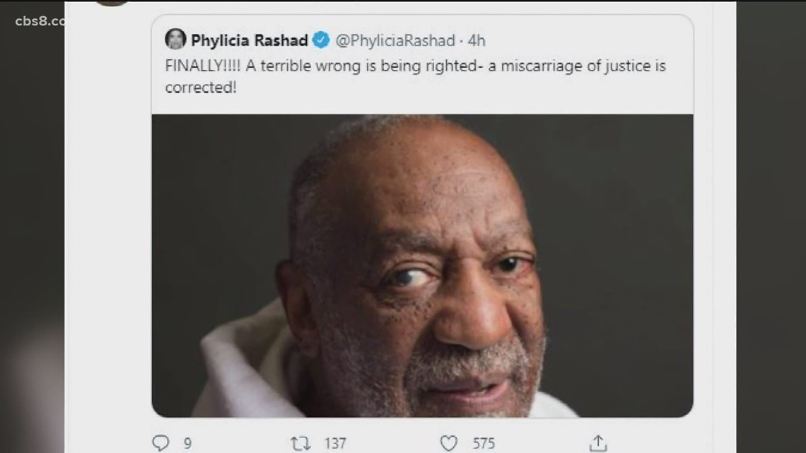 San Diegans react to Bill Cosby's release from prison
