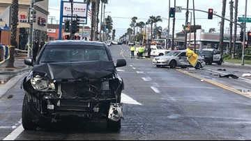 Driver charged with involuntary manslaughter for multi-vehicle.