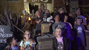 Halloween Houses: Pirates of Peppertree Way in Bressi Ranch