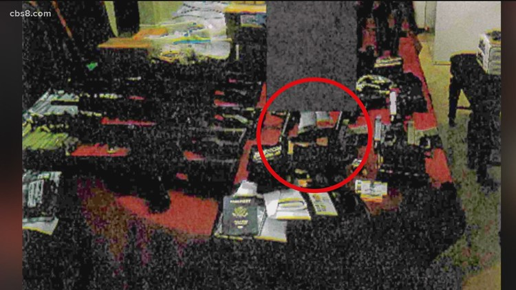 Evidence photographs released in Larry Millete GVRO case
