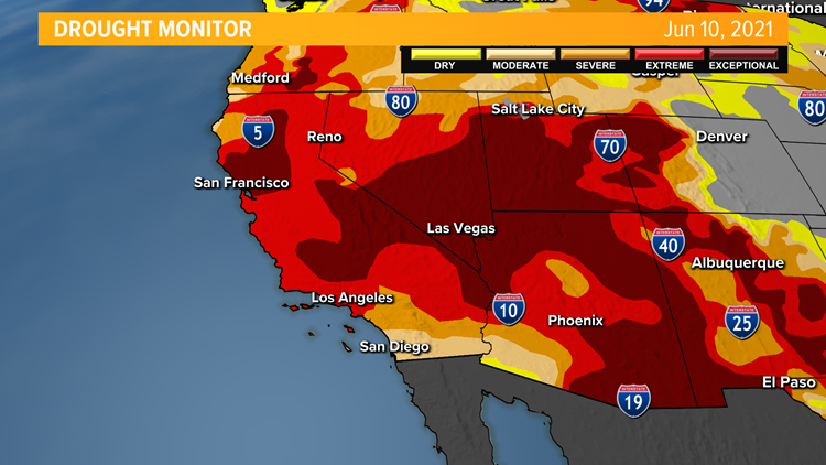 New report shows the extent of California's drought