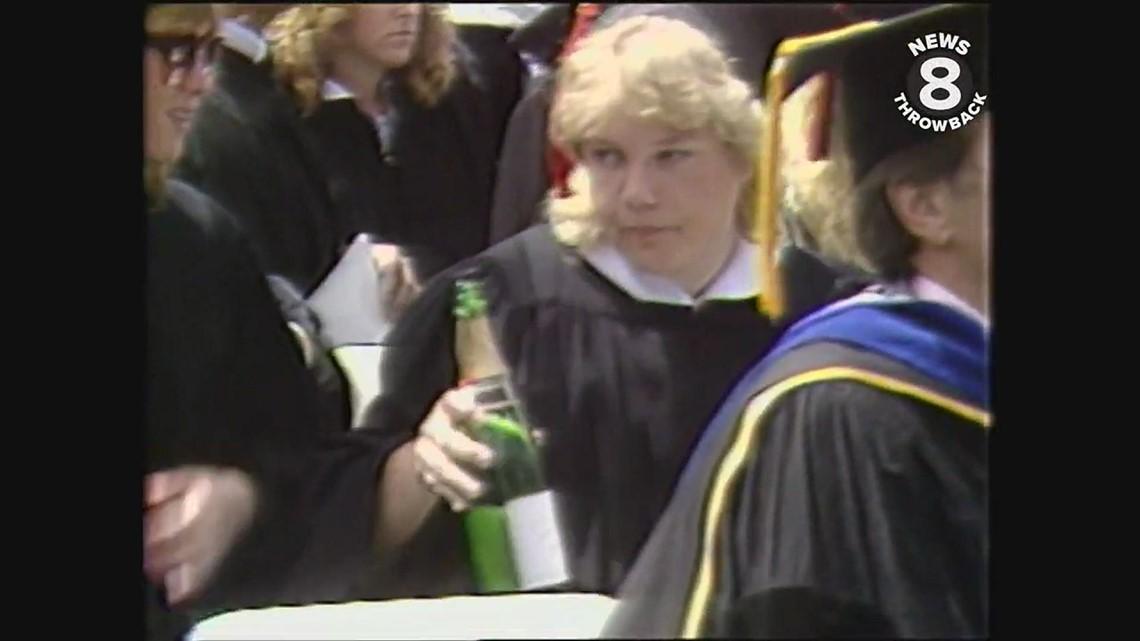 San Diego State University graduation 1985