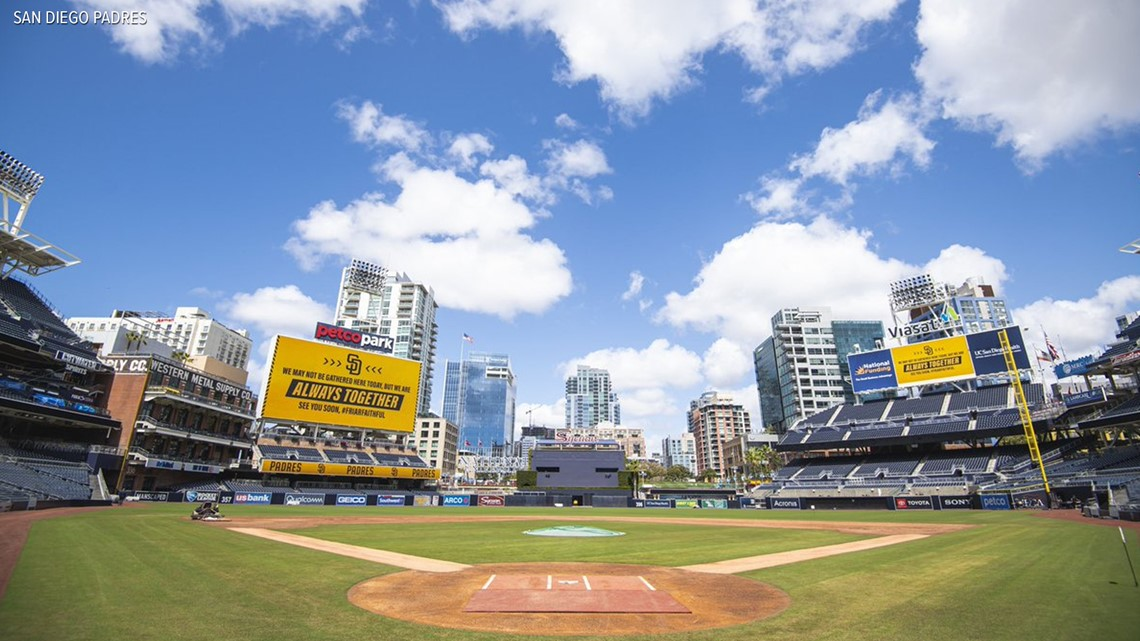 San Diego Padres hold Opening Day ceremony despite coronavirus-delayed season