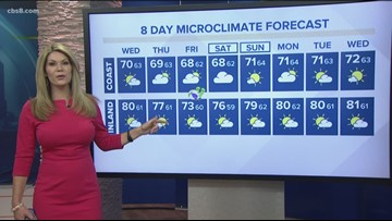 MicroClimate Forecast Wednesday June 19, 2019 (Morning)