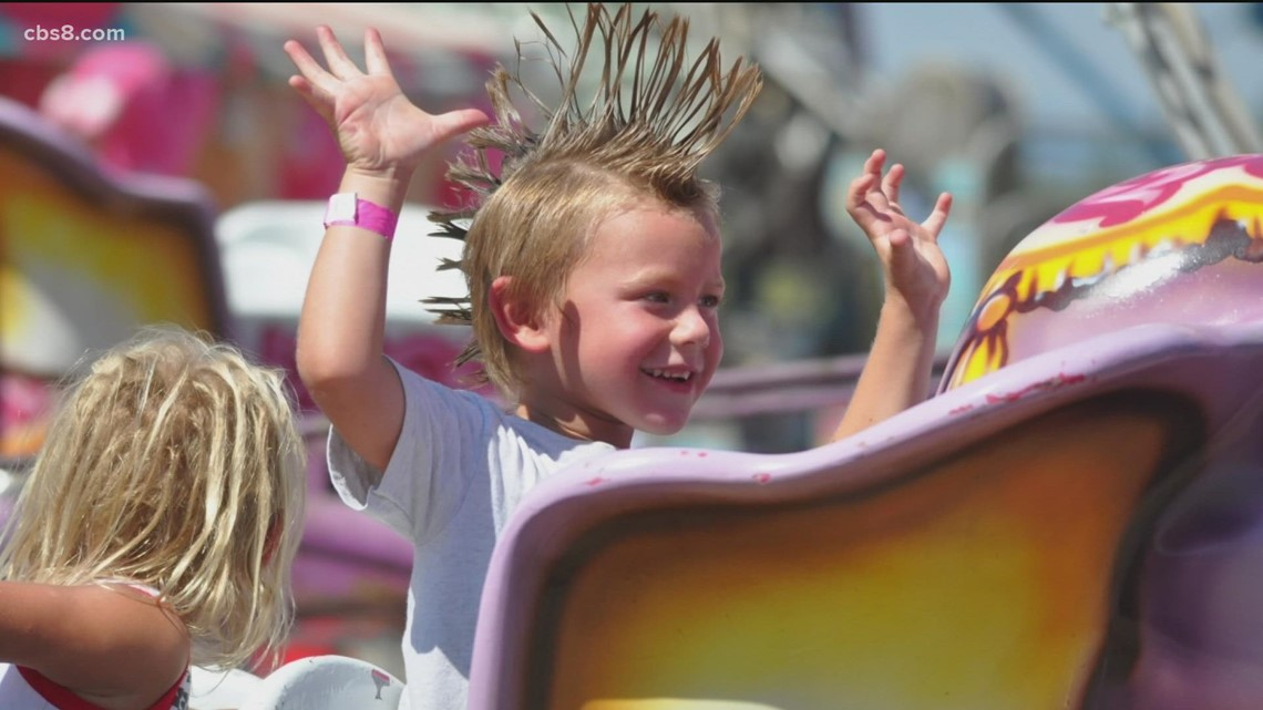 The Ramona Country Fair celebrates 50 years of rides, games and food