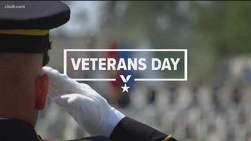 Veterans Day celebrations, observances held around San Diego County