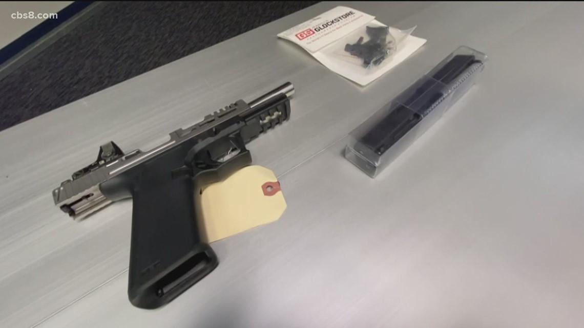 San Diego Police Department announces crackdown on violent crime, 'ghost guns'