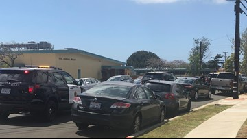 Woman in custody after entering San Diego church with gun