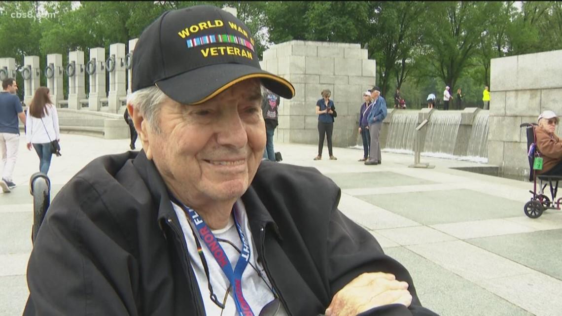 Stories of heroism from Honor Flight San Diego