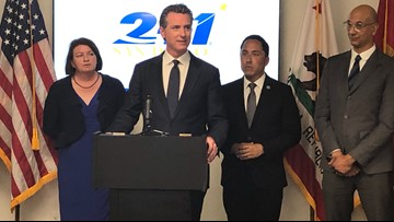 Gov. Newsom visits health care facilities in San Diego