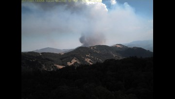 2,135-acre San Diego County fire contained | cbs8 com