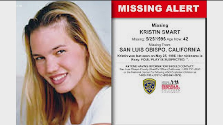 Person of interest arrested in 1996 disappearance of Cal Poly student Kristin Smart