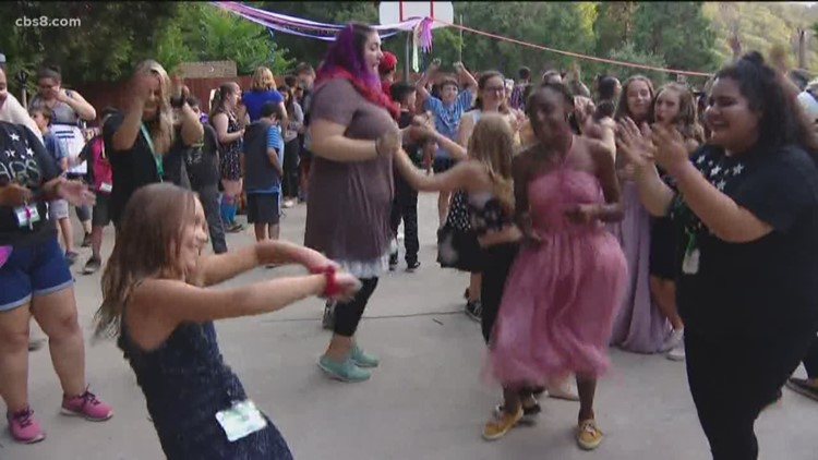 Summer camp for siblings of cancer patients