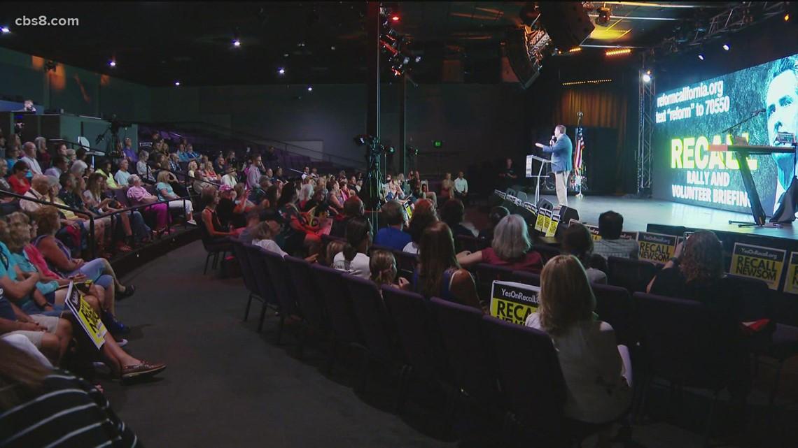 Awaken church holds 'Recall Gavin Newsom' rally