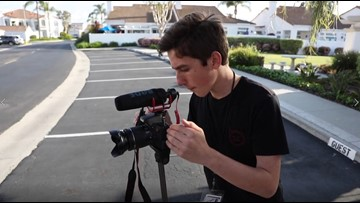 Zevely Zone takes a ride along with Carlsbad teen stringer