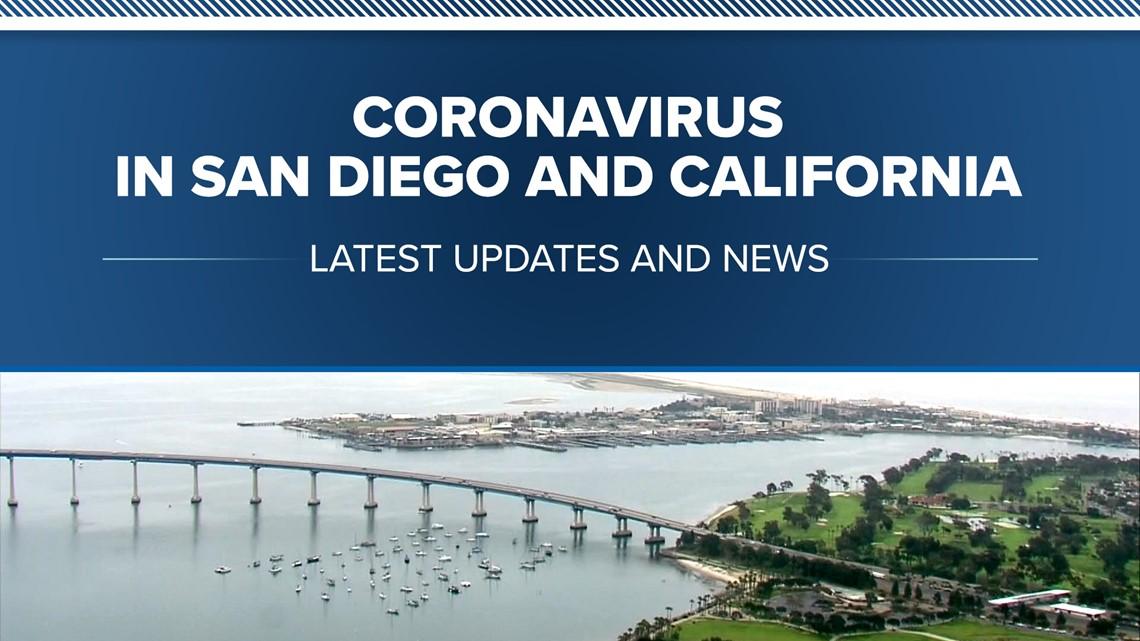 Coronavirus in San Diego and California: Latest updates and news
