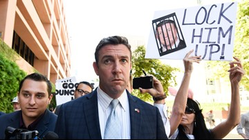 Rep. Duncan Hunter timeline | From replacing father in Congress to guilty plea in San Diego federal court