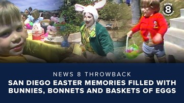 News 8 Throwback: San Diego Easter memories filled with bunnies, bonnets and baskets of eggs