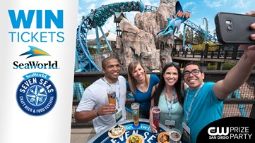 Win tickets to SeaWorld & the Seven Seas Craft Beer and Food Festival!