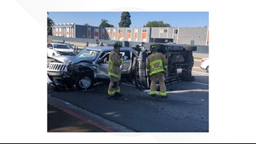 Suspected drunk driver injures woman in Clairemont rollover crash
