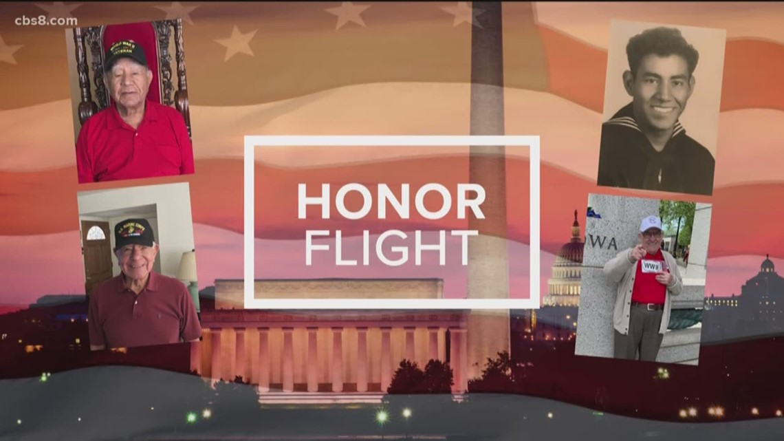 Honor Flight: News 8 rides along with WWII and Korean War veterans for a trip of a lifetime